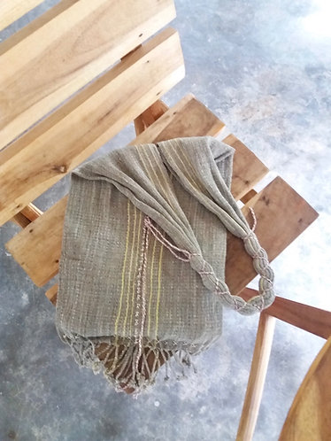 Handwoven Monk Bag Sage