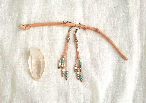 Boho Earrings Moon Dance