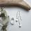 Thumbnail: Mizore Long Drop Earrings