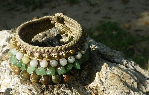 Bracelet Gypsy Green