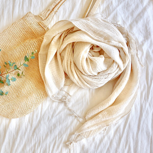 Extra Sofft Linen Cotton Scarf