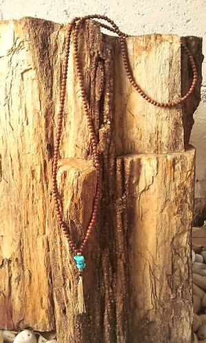 Mala Necklace Arizona Turquoise