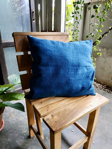 Cotton Indigo Pillow Cover