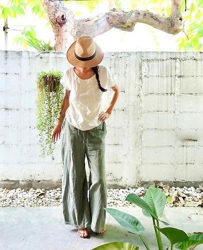 Cotton Gemini Pants /  3 colors
