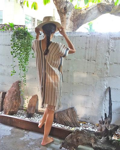 Karen Hill Tribe Handwoven Tunic