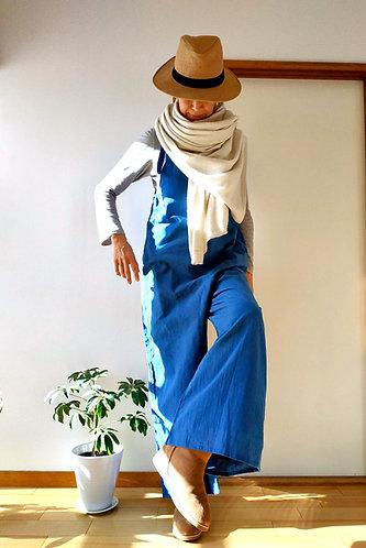 Wide Jumpsuits in Indigo