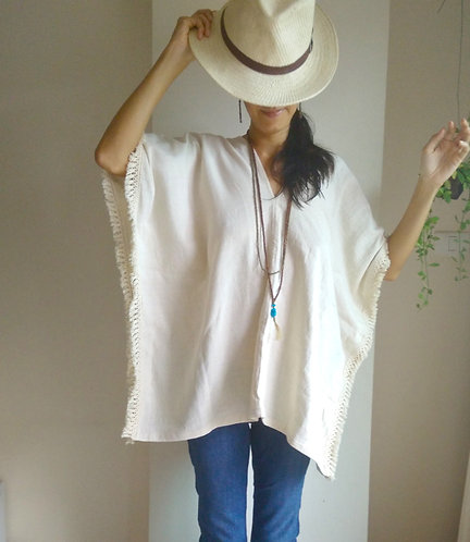 Bamboo Cotton Poncho