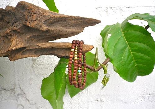 Bracelet Mala Turquoise