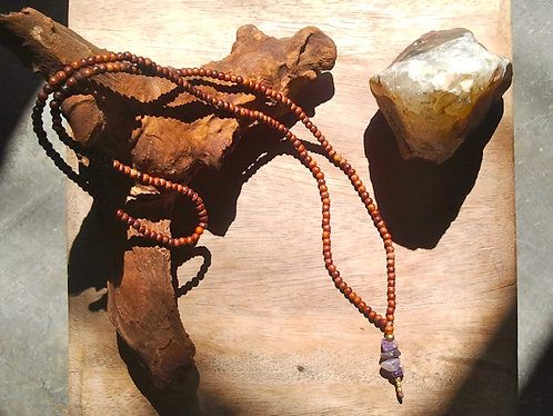 Mala Necklace Amethyst