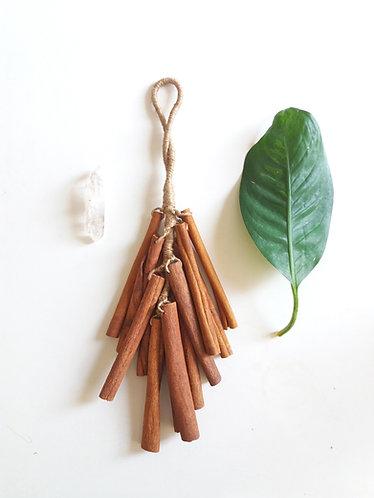 Cinnamon Stick Ornament/ Shamanic Instrument