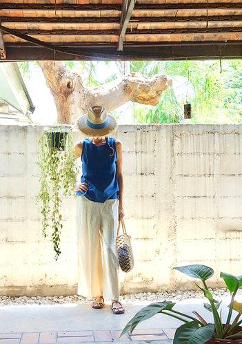 Ai Cotton Tops in Indigo