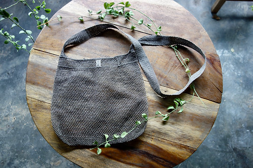 Lao Hemp Bag in Grey