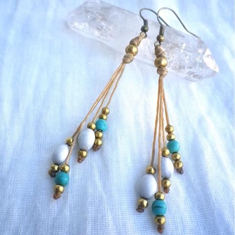 Earrings Rhythm Turquoise