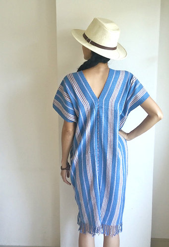 Handwoven Cotton Kaftan Tunic
