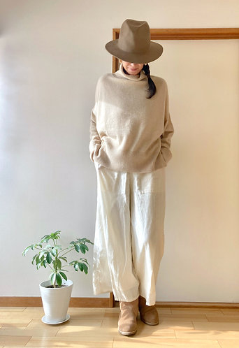 Pure Cashmere Knit Nagomi Pullover