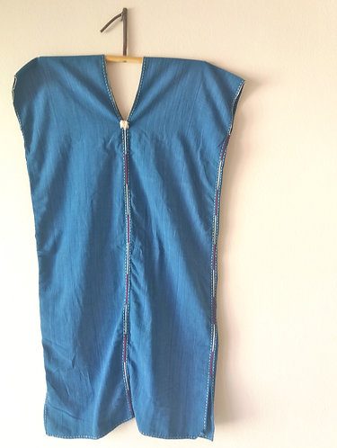 Indigo Hand Stitched Tunic