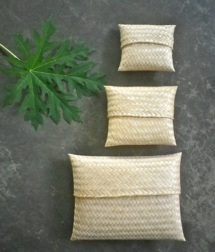 Bamboo Boxes * Set of 3 pieces*