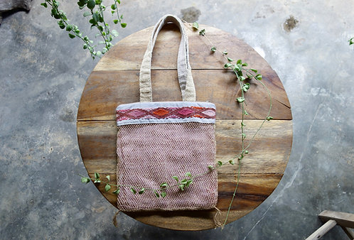 Lao Hamp Tote in Summer Pink