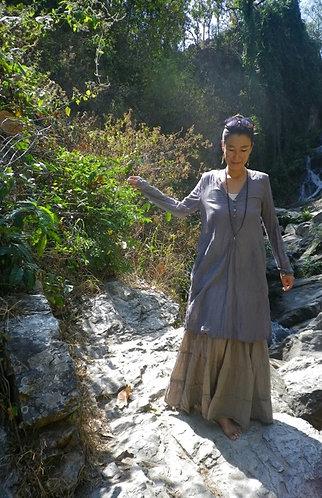 Long Tunic Dress Stone