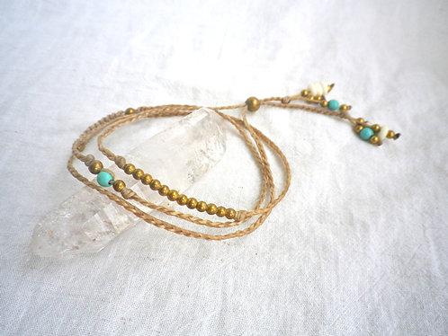 Wrap Bracelet Turquoise