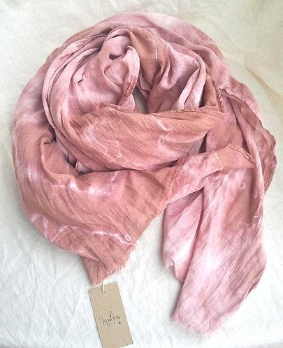 Boho Tie-dye Cotton Scarf