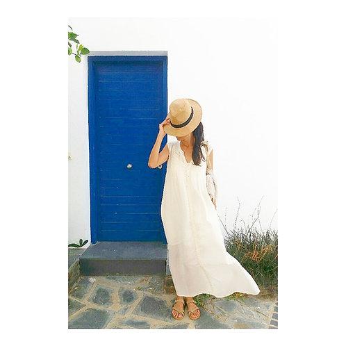 Shizuku Cotton Dress / 2 colors