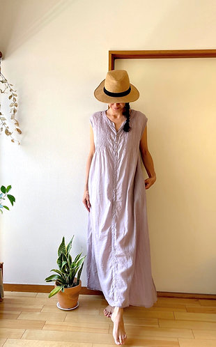 Shizuku Cotton Dress / 4 colors