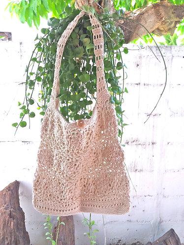 Cotton Crochet Bohemian Bag