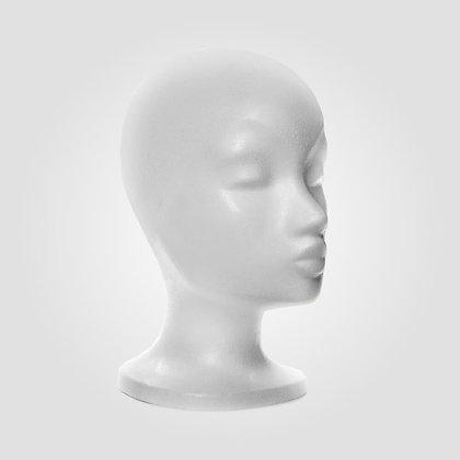 Stiroporna glava za lasuljo | Ellen Wille