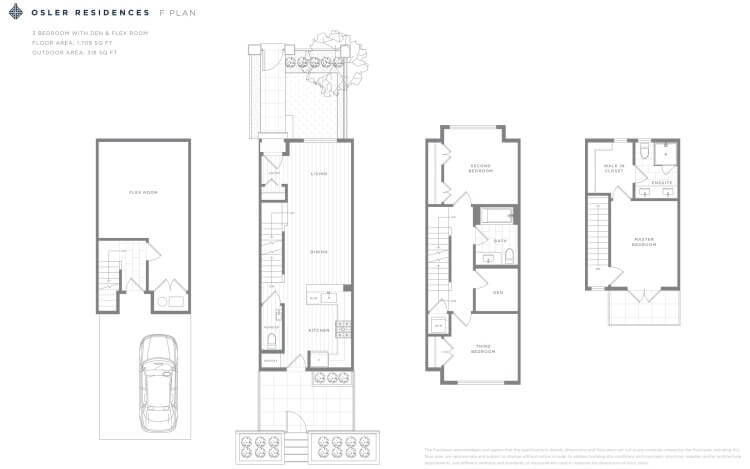 F Plan - Osler Residences