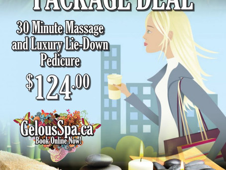 "Spa Package for the ""Girl On The Go!"""