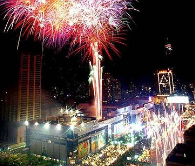CELEBRATING THE NEW YEAR IN THAILAND