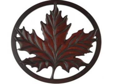 Maple Leaf Trivet - Recycled Glass (2 Sizes)