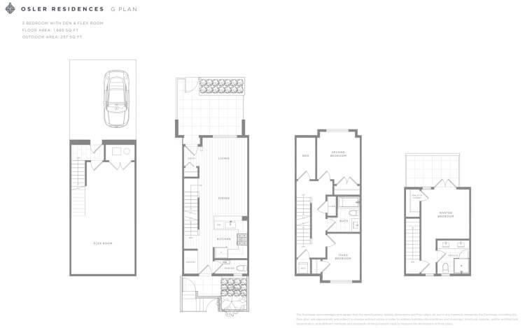 G Plan - Osler Residences