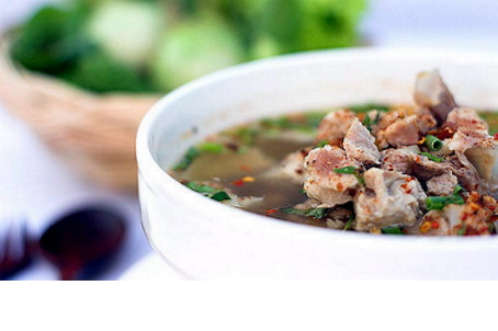 RECIPE OF THE MONTH: THAI HOT AND SOUR BEEF SOUP