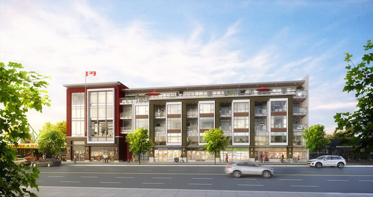 Centro in Burnaby Heights