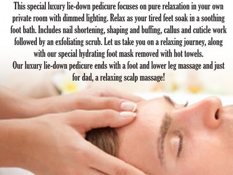 Gelous Spa – Issue 17 – Father's Day Special