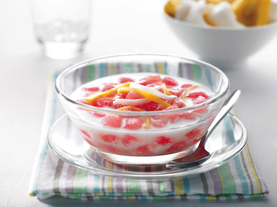 RECIPE OF THE MONTH: RUBY IN COCONUT MILK