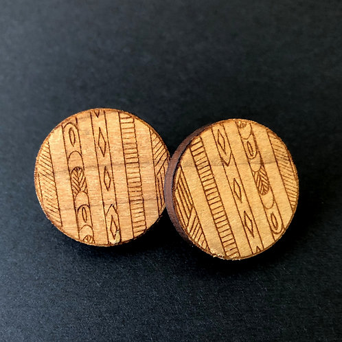 'together' earrings