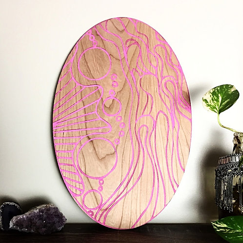 oval wall hanging