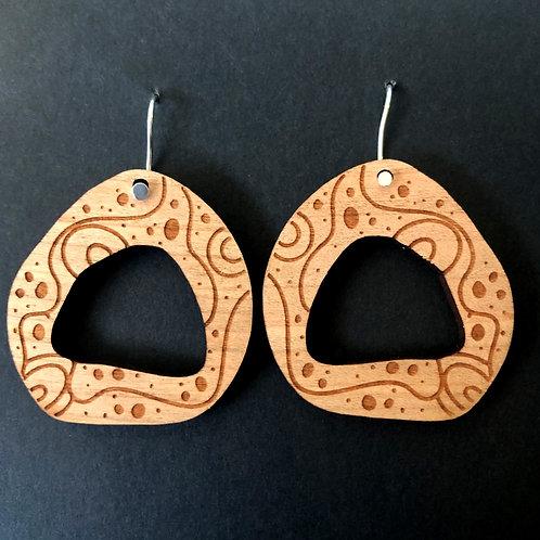 """bimbi """"pod"""" earrings"""