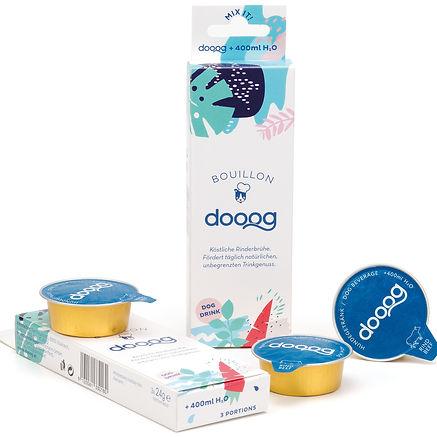 dooog Hundegetränk Verpackung