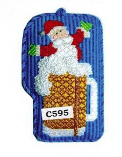 c595 Beer Stein Santa