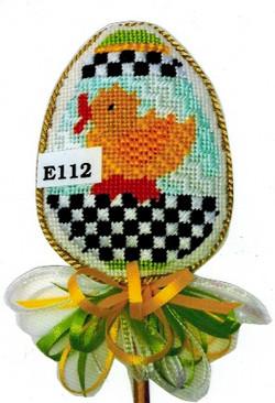 E112 Checkerboard Chick