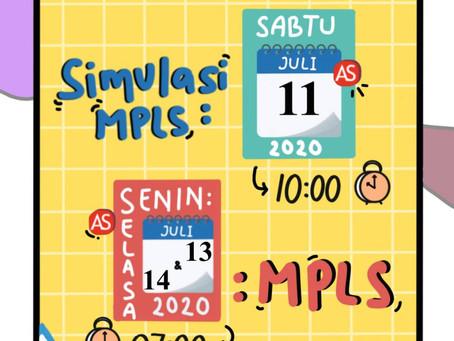 Simulasi MPLS Calon Peserta Didik Baru Tahun Pelajaran 2020/2021
