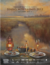 Dining with Friends - Press Poster
