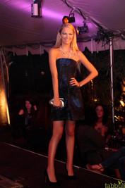 White Haute Nights - Black & Blue Fashion Show
