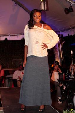 White Haute Nights - Seeking Indigo Fashion Show