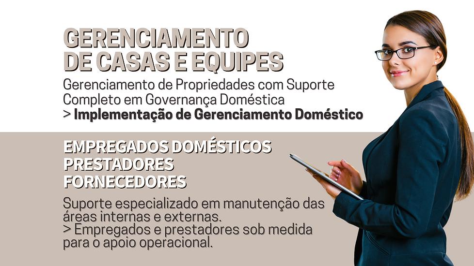 Gerenciamento de Casas e Equipes de Empr