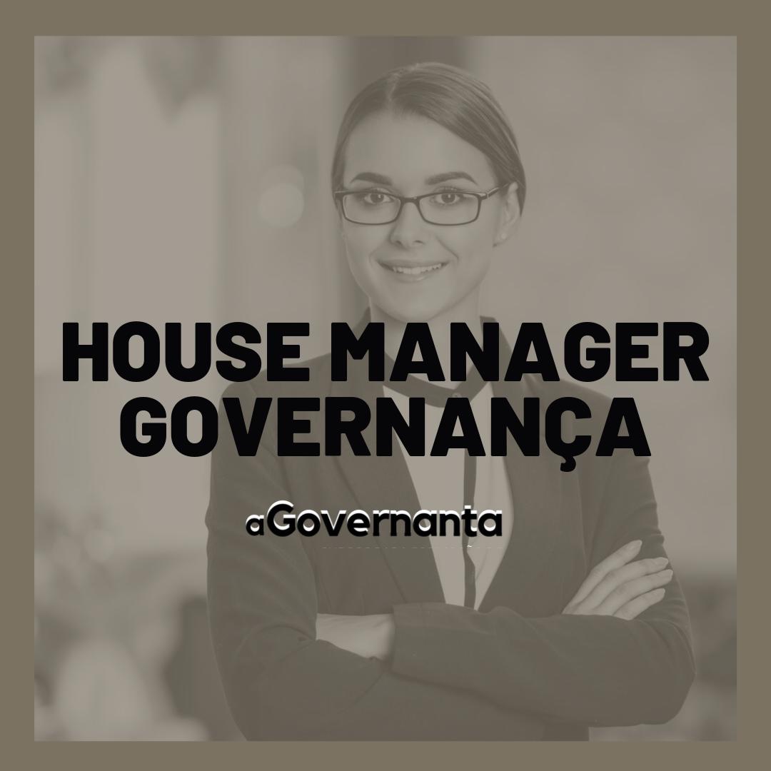 Formação House Manager